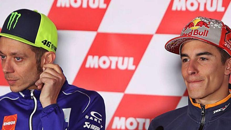 """Rossi insiste en que le """"robaron"""" su décimo título mundial"""