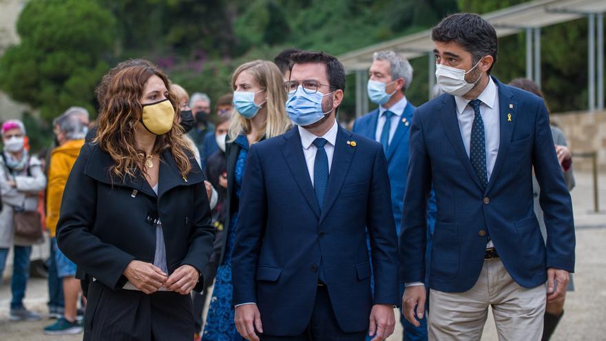 ERC paga a Puigdemont la fianza que le reclama el Tribunal de Cuentas