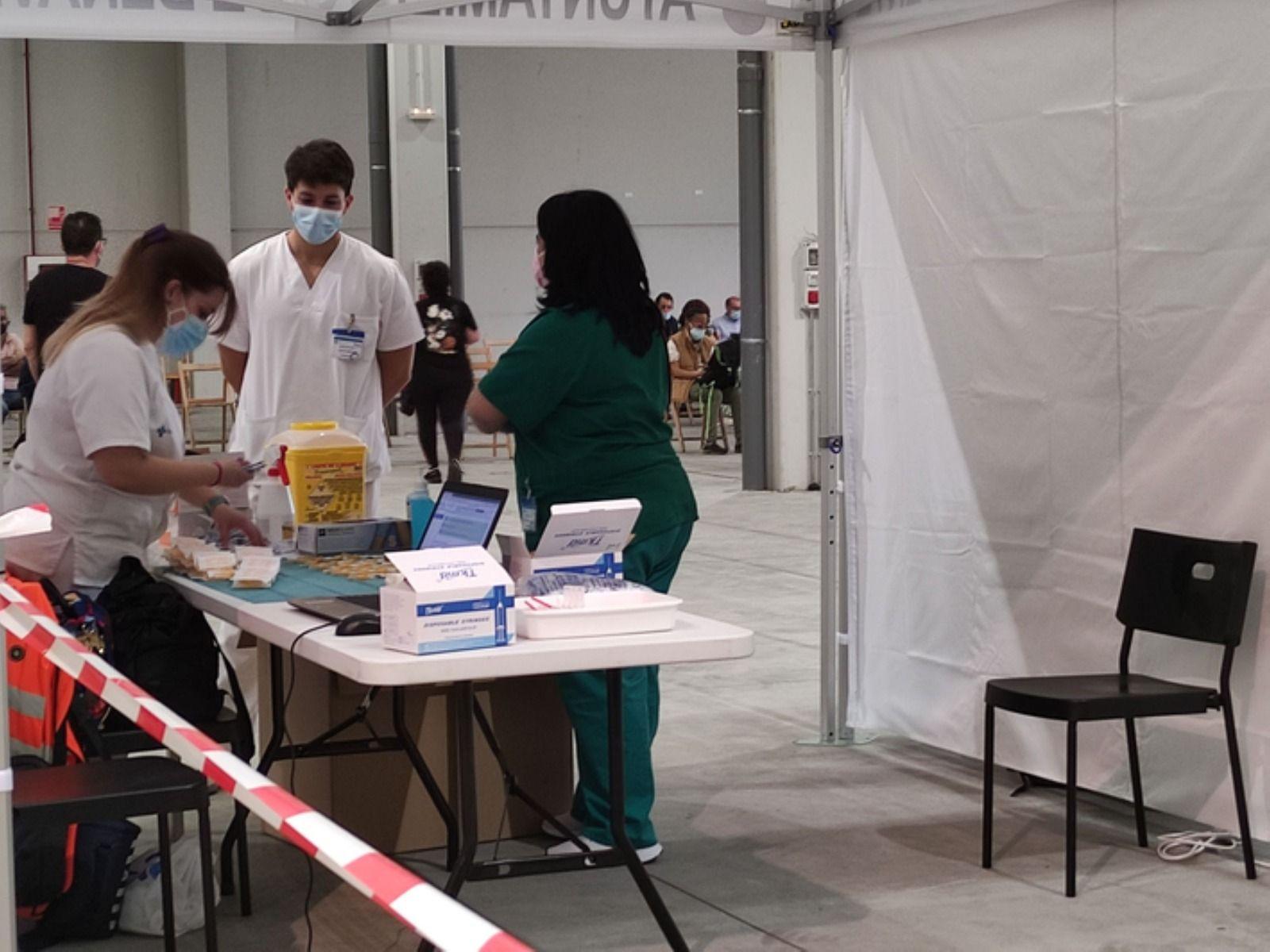 GALERÍA   Benavente estrena vacunódromo: las imágenes