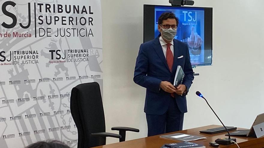 El presidente del TSJ de Murcia, Miguel Pasqual del Riquelme