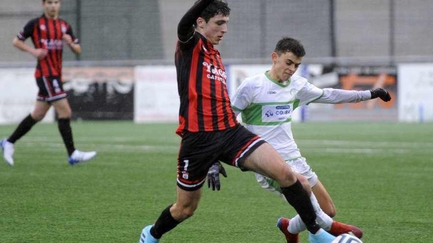 Valioso empate de la EF Lalín contra el Pabellón Ourense
