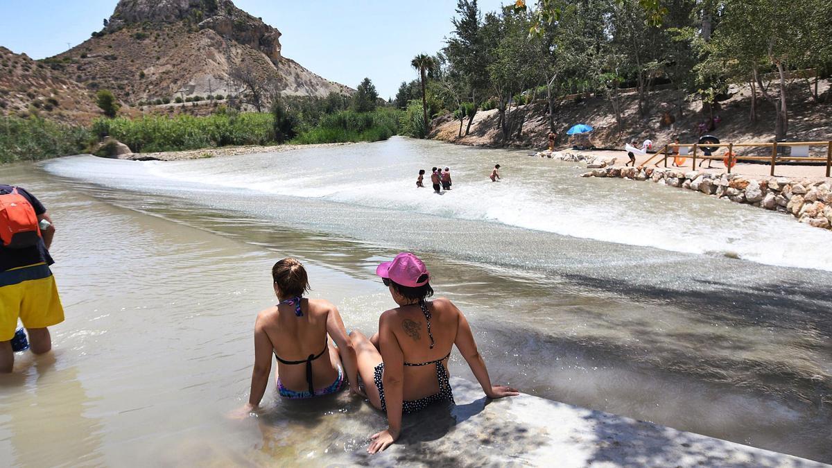 Salud no analiza la calidad  de las aguas en las playas fluviales desde los años 90