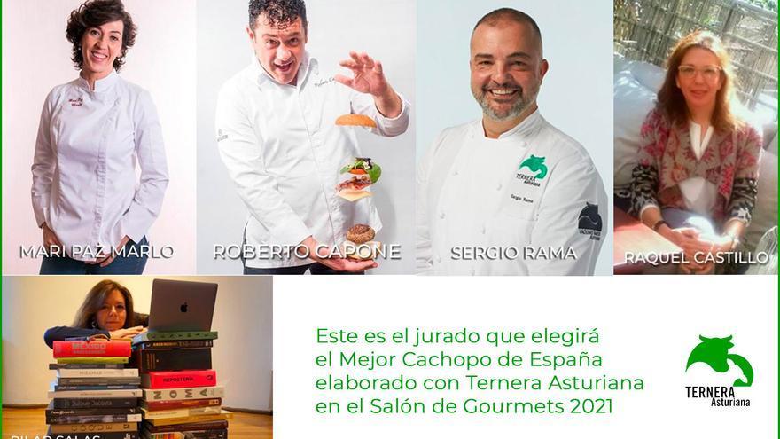 Este es el jurado que elegirá el Mejor Cachopo de España elaborado con Ternera Asturiana en el Salón de Gourmets 2021.