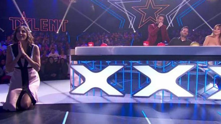 Paz Padilla la lía en 'Got Talent' al pulsar por error el botón dorado