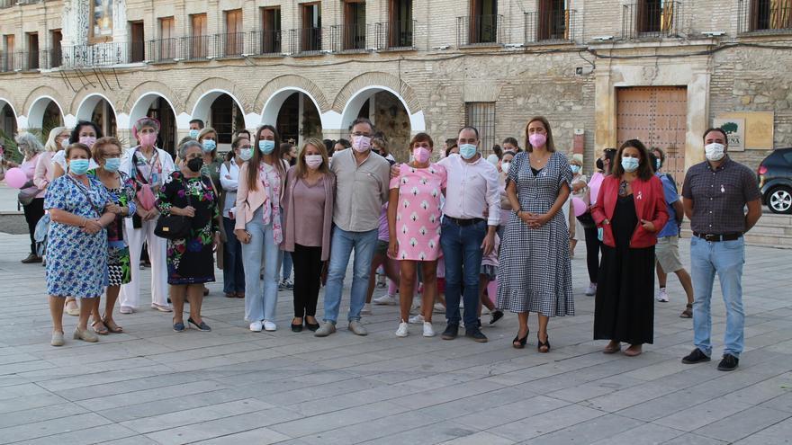 Baena y Lucena luchan contra el cáncer de mama con actos de sensibilización