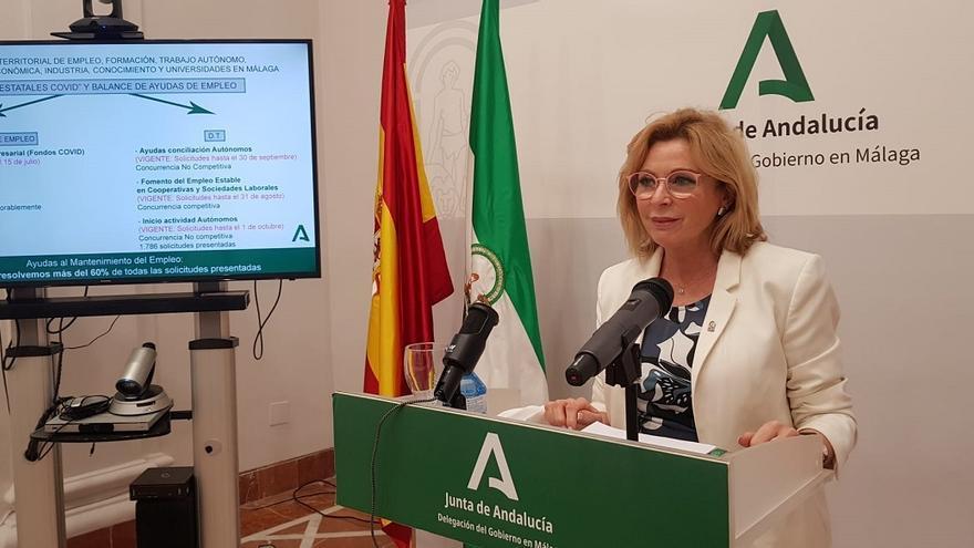 La Junta aprueba en un mes más de 5.200 solicitudes para mantener el empleo en empresas con ERTE en Málaga
