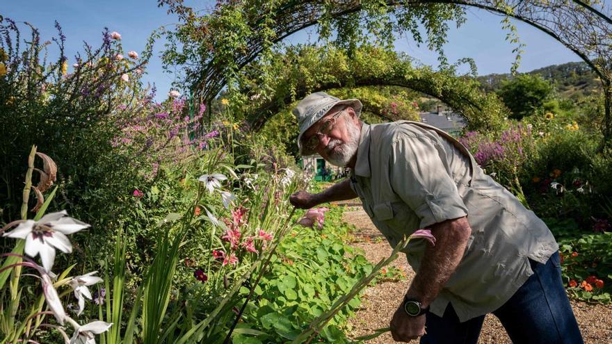 El jardinero que reverdeció los cuadros de Monet