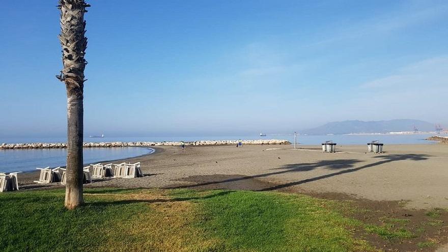 Milagro en las playas del Palo: amanecen limpias la mañana de San Juan