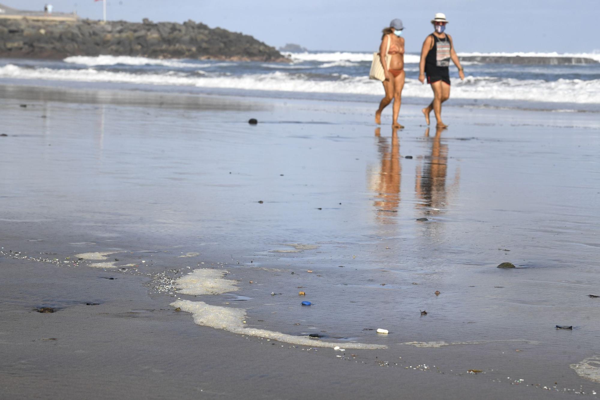 Microplásticos en Las Canteras