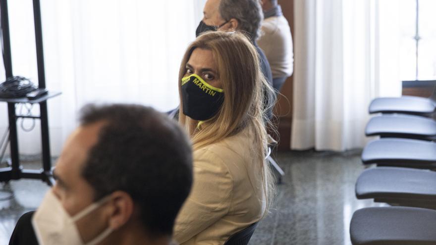 Juana Martín agradece el trato del tribunal que la ha juzgado en el caso Invercaria