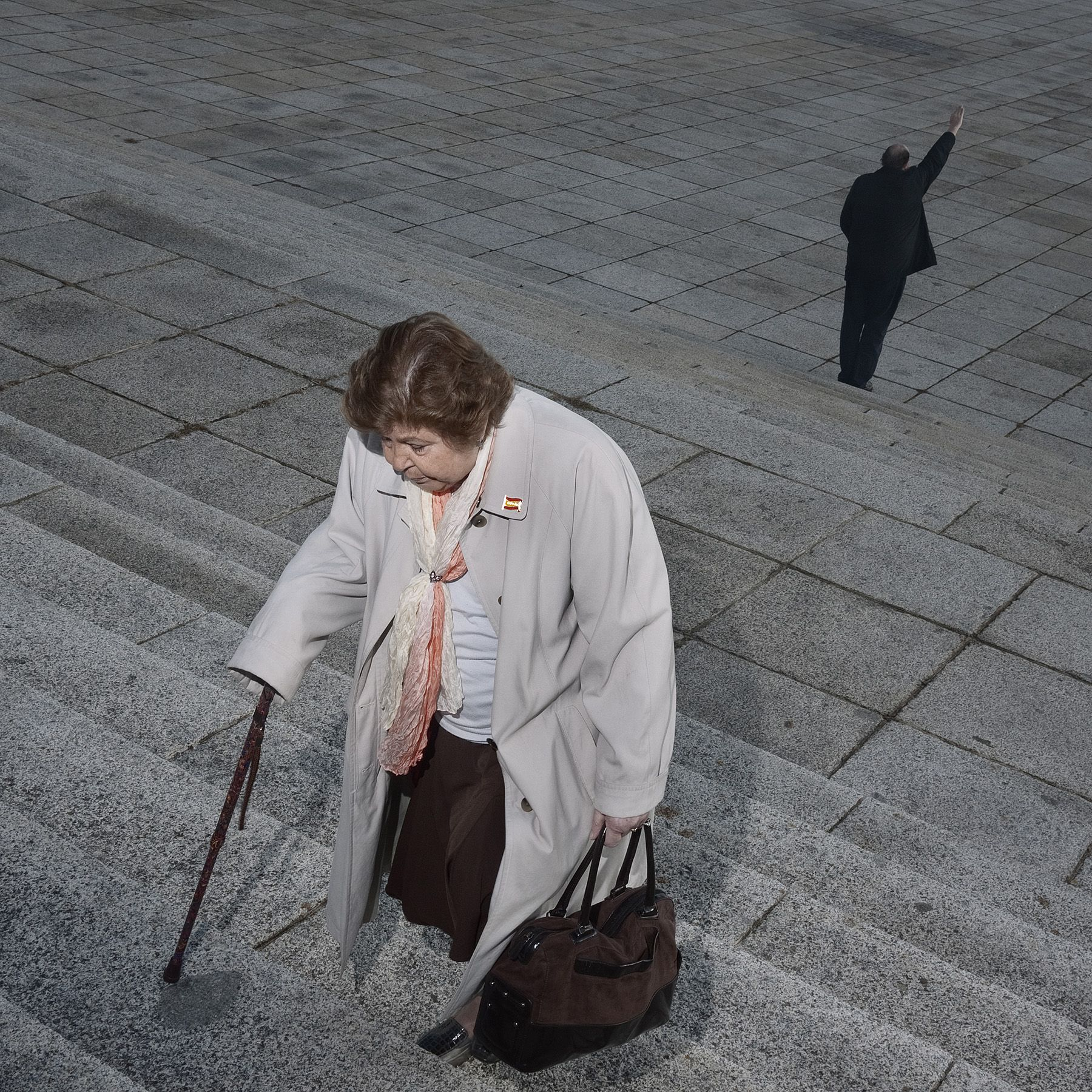 La mirada de Toni Amengual sobre el Valle de los CaÍdos llega a Es Baluard de Palma