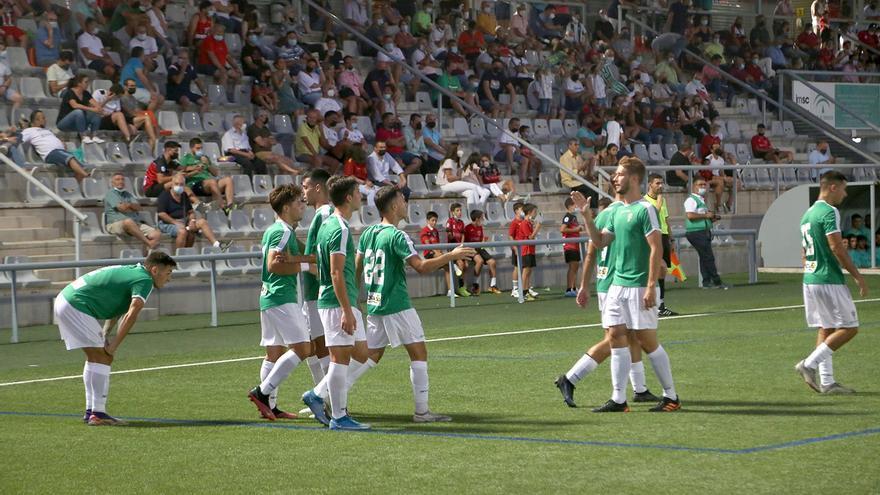 El filial del Córdoba CF marca el camino al triunfo