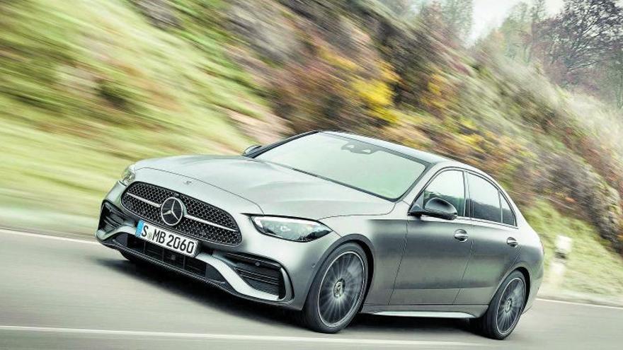Un Mercedes Classe S a escala