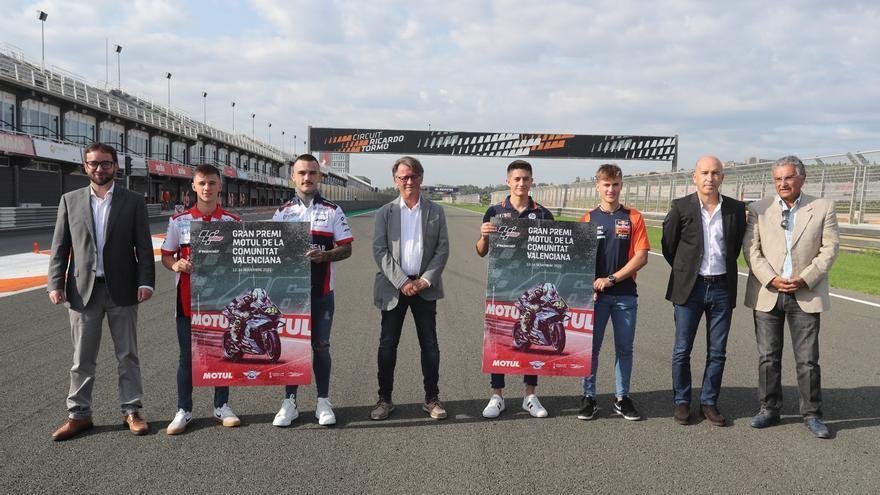 Presentación del GP de la Comunitat Valenciana