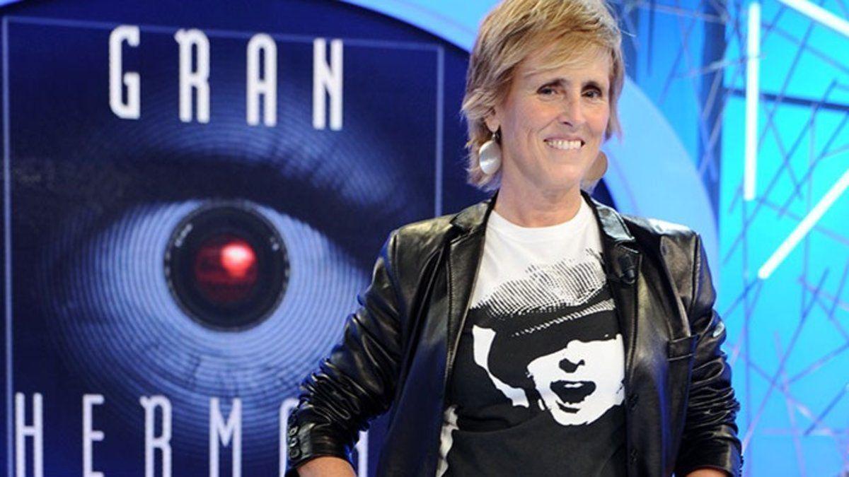 Mercedes Milá, ex presentadora de 'Gran Hermano'.