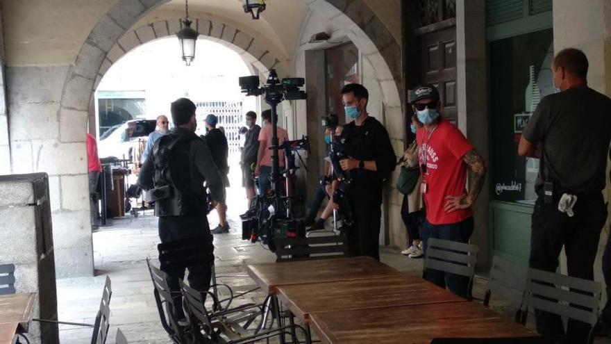 «Brots verds»: torna la Girona de plató amb un rodatge al cor del Barri Vell