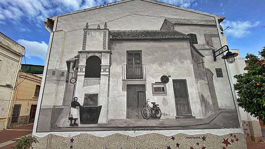 El ayuntamiento de Benipeixcar vuelve en formato mural