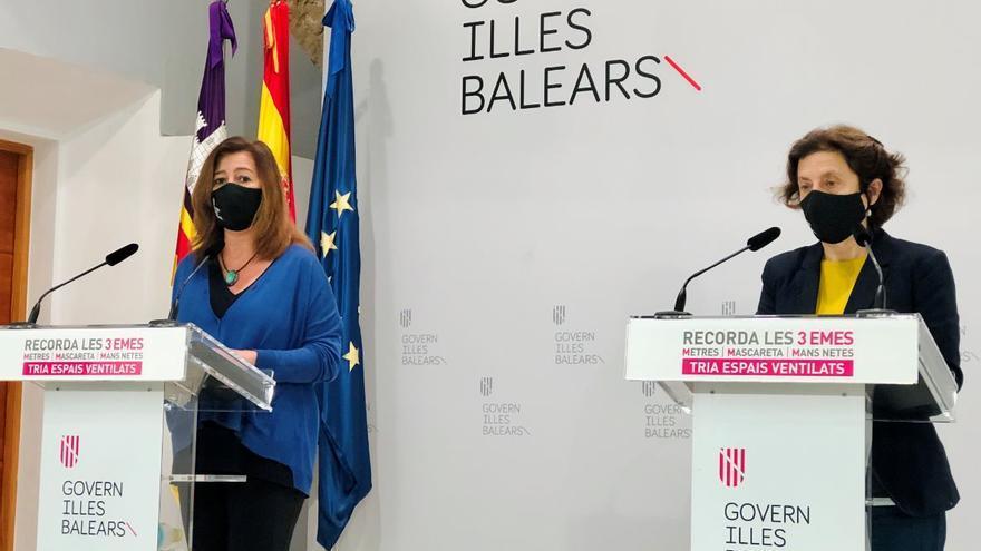 Balears despliega un equipo de 377 informadores Covid