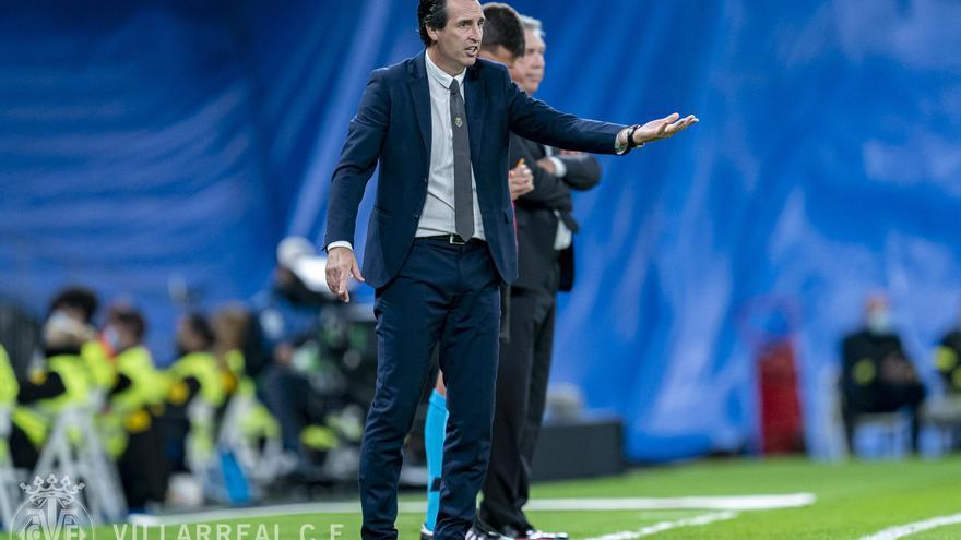 """Emery tras el empate del Villarreal ante el Real Madrid: """"Hemos hecho un partido casi perfecto"""""""