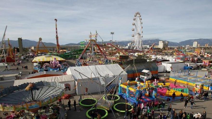 Mallorcas Jahrmarkt Fira del Ram hat wieder Fahrt aufgenommen