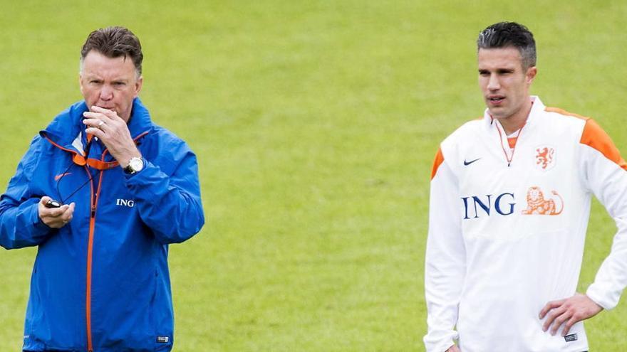 Van Gaal abofeteó a Van Persie en el Mundial de 2014 por negarse a ser sustituido