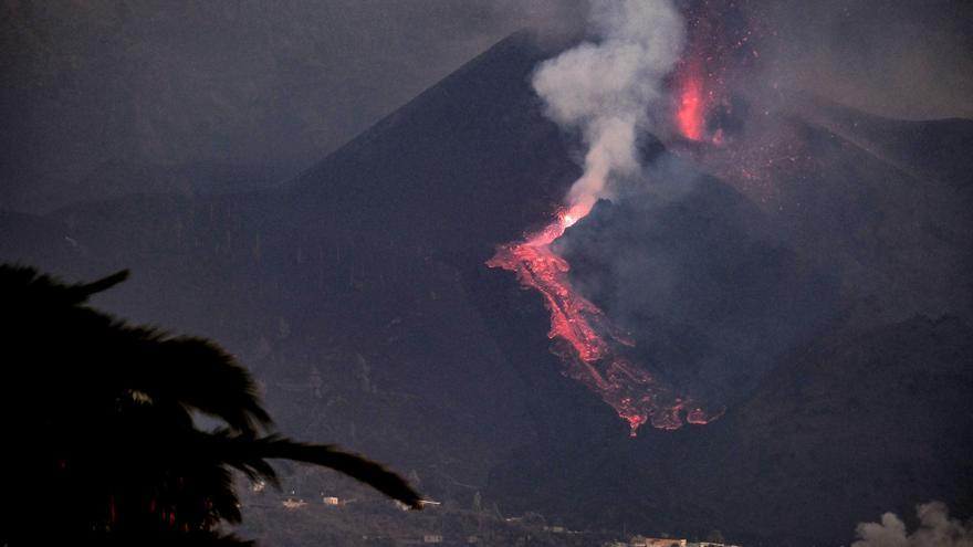 El volcán de Cumbre Vieja vuelve a estallar