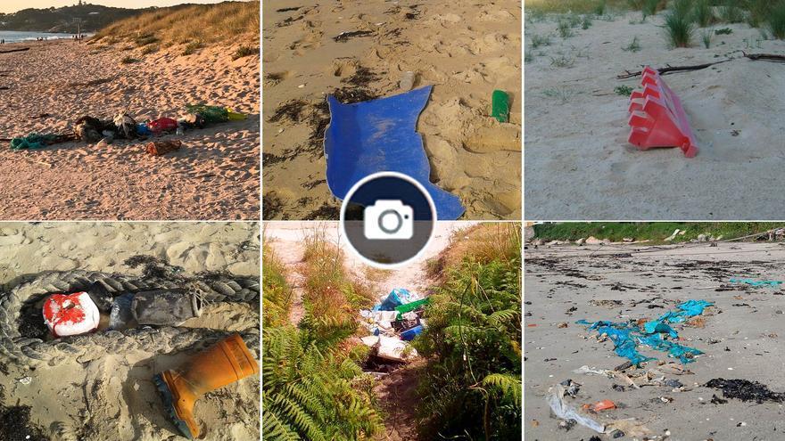 La suciedad de las playas gallegas: 240 plásticos por cada 100 metros de arenal