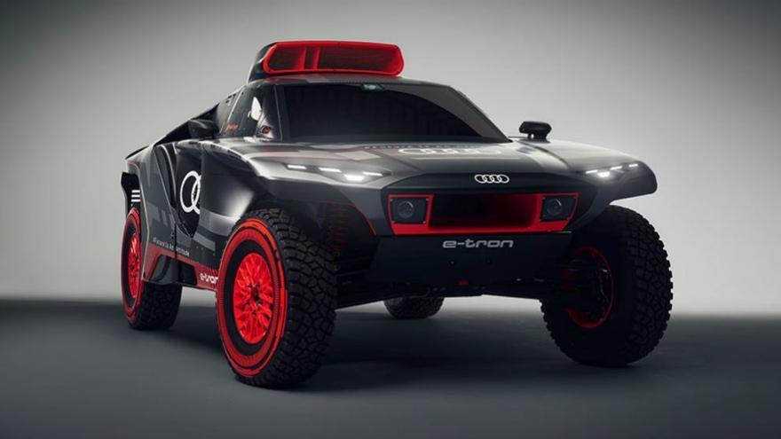 Así será el coche de Carlos Sainz en el Dakar 2022