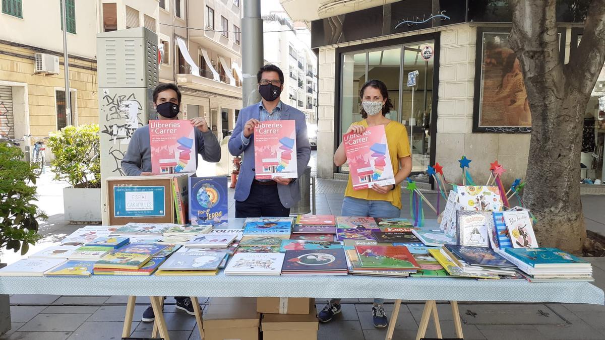 Las librerías de Palma venderán en puestos callejeros los jueves por la tarde