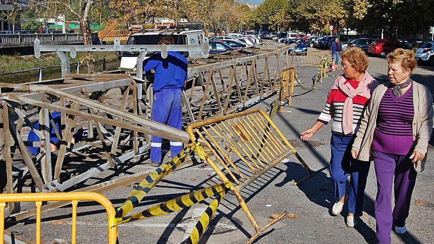 Redondela tardará en reparar el alumbrado en varias calles del centro
