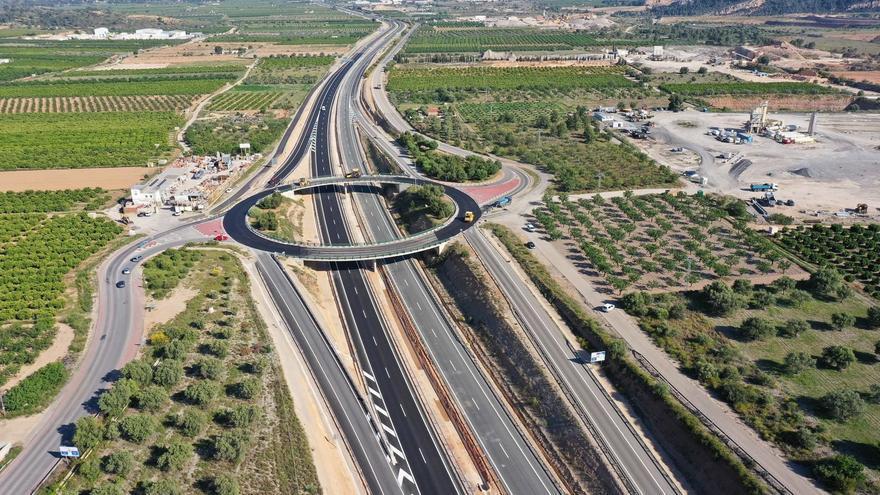 Terminan las obras de ampliación de la CV-35 tras una inversión de 35 millones de euros