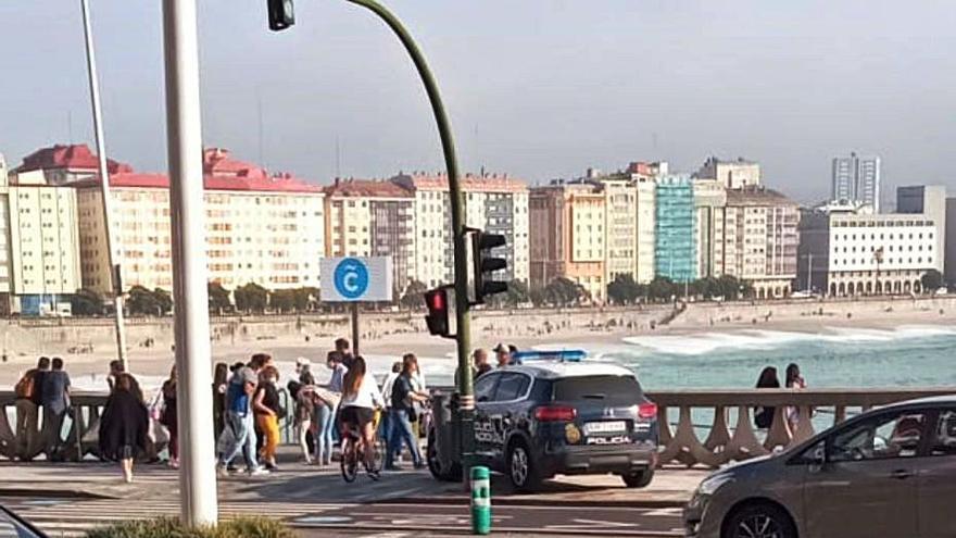 Dos detenidos por robar a los bañistas al descuido en la playa del Matadero