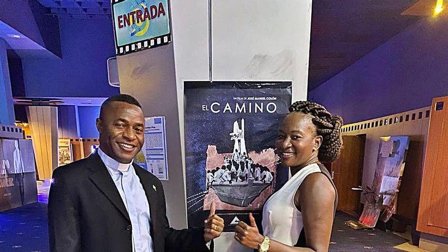 La historia de Kenneth Chukwuka se estrena en pantalla grande