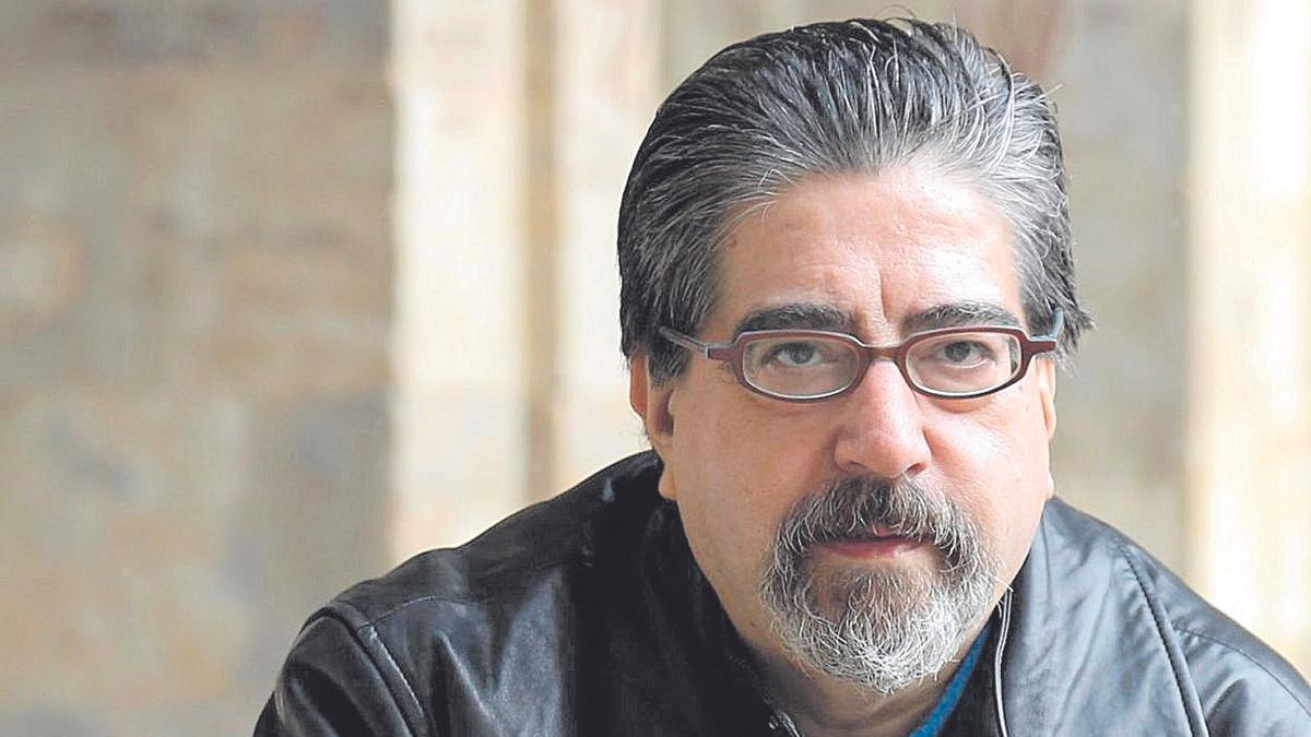 Luis García Jambrina, autor de 'El manuscrito de barro'.