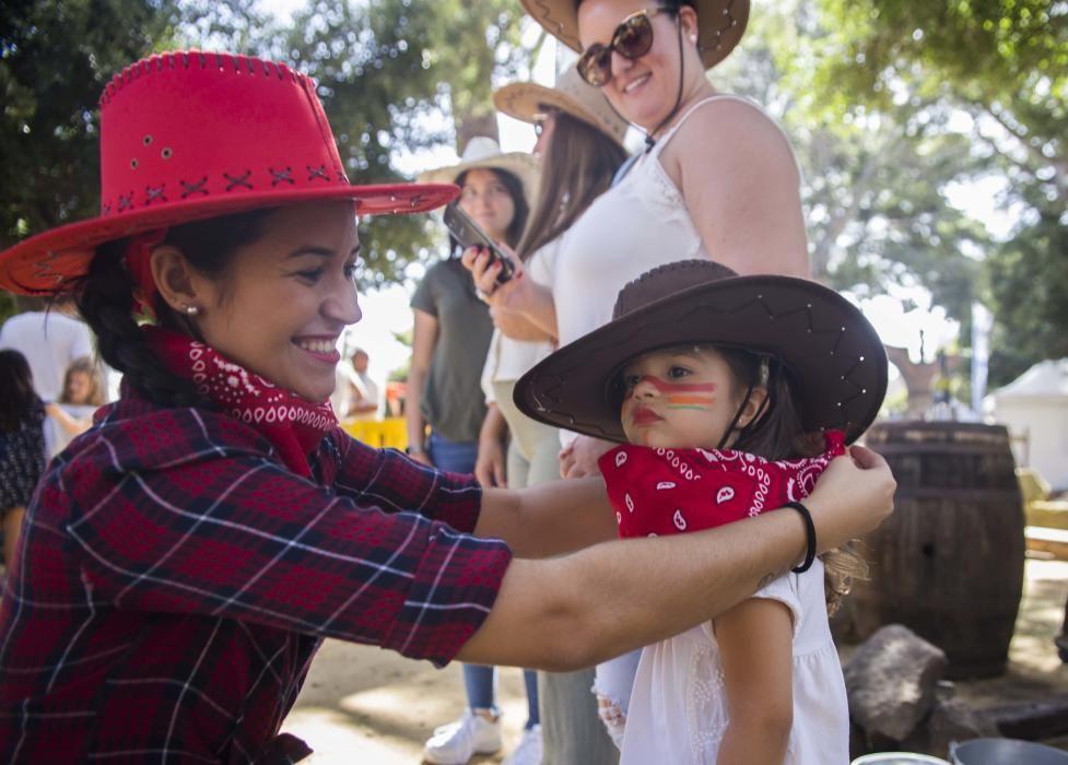 Los niños, protagonistas del Ven a Santa Cruz