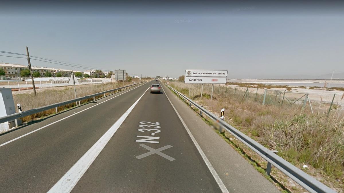 Fallece un hombre en un accidente de tráfico en Santa Pola