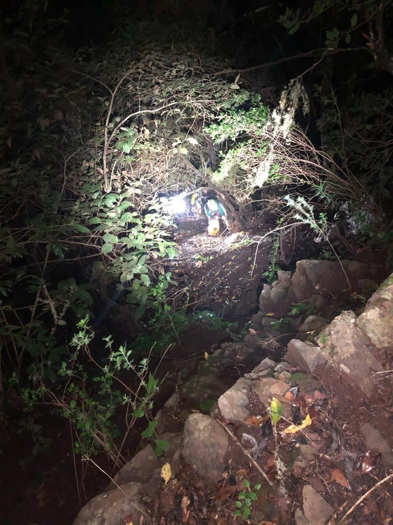 El rescate heroíco que salvó una vida en La Gomera