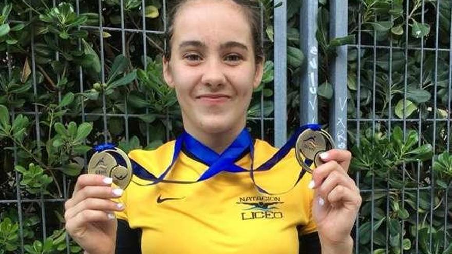 Cuarta medalla de oro para Paula Otero en el Nacional infantil
