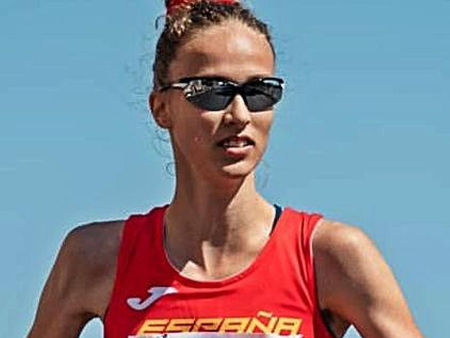 Antía Chamosa, campeona de España sub 23 con la tercera marca europea