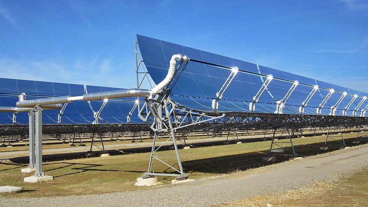 Una planta de energía termosolar situada en la provincia de Córdoba.