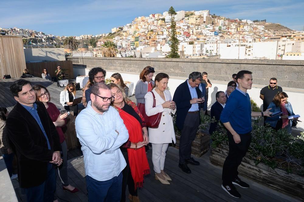 Desayuno de Navidad del Ayuntamiento de Las Palmas de Gran Canaria.