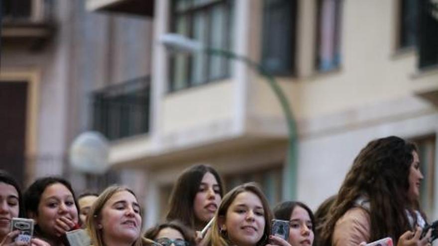 Gemeliers moviliza en Palma a cientos de fans