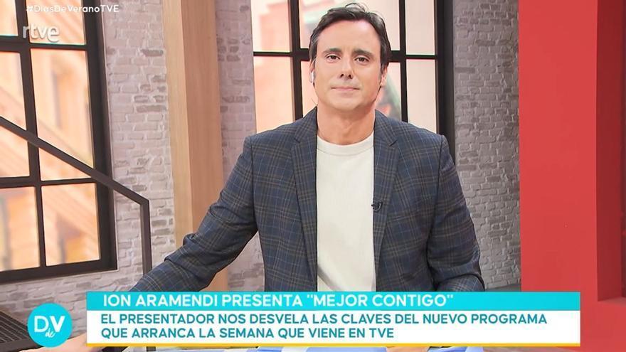 """Ion Aramendi avanza detalles de 'Mejor contigo', su nuevo programa en La 1: """"Será novedoso"""""""