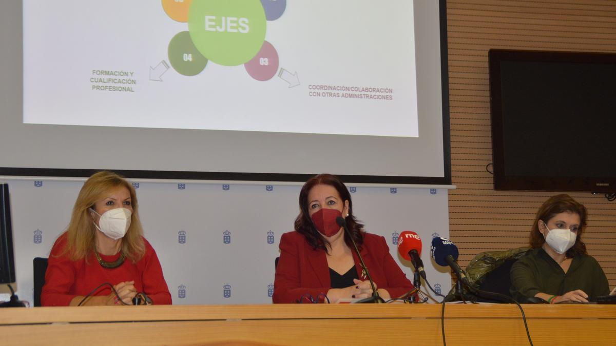 La consejera, Manuela Armas, presenta el Mapa de Educación Infantil de Canarias