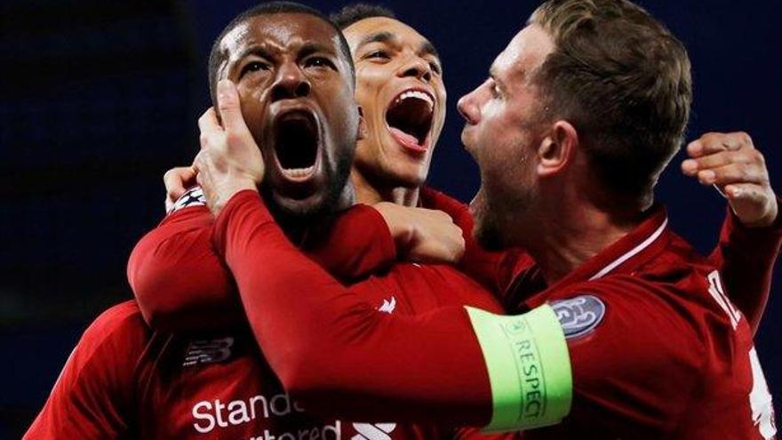 Lección de fútbol del Liverpool