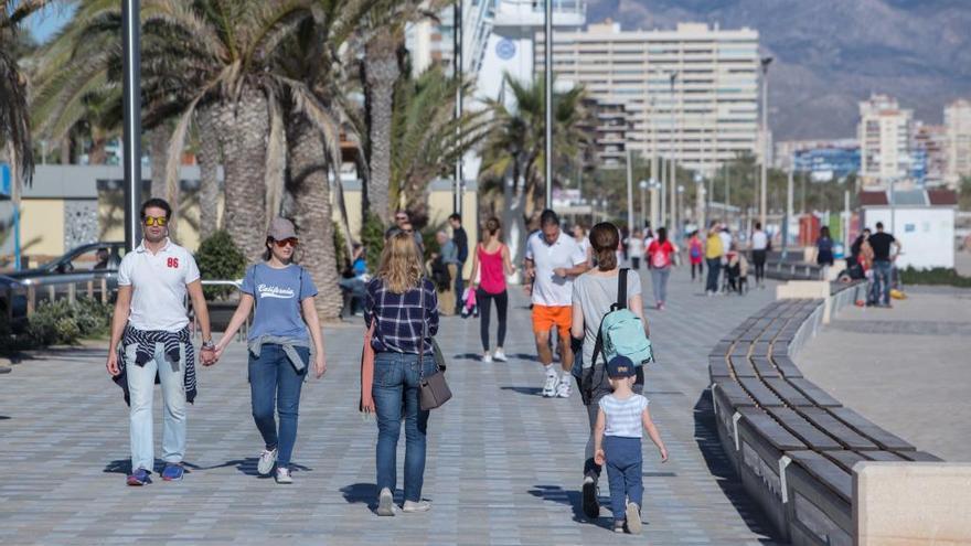 El tiempo en Alicante: Domingo con temperaturas primaverales en Alicante