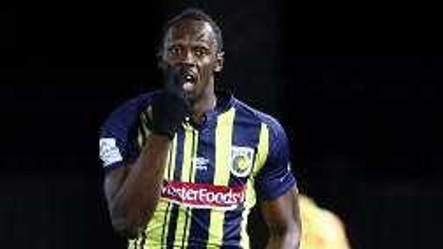 Discreto debut de Usain Bolt en la Liga australiana
