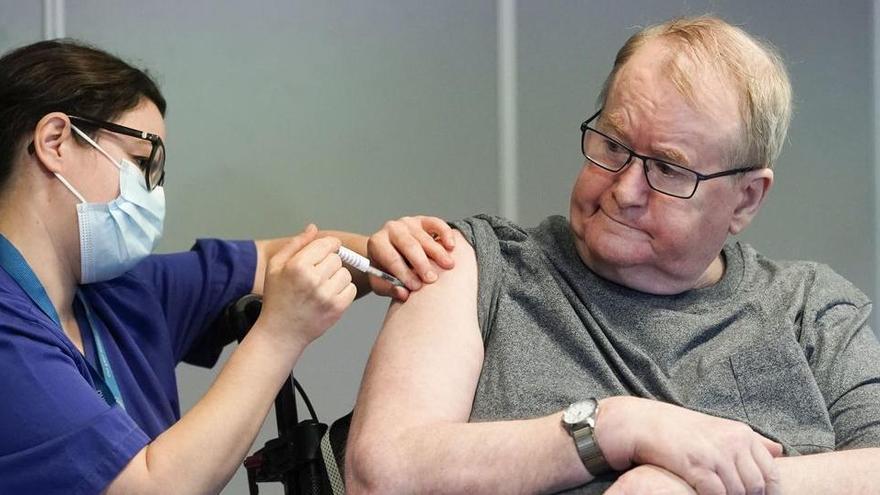 Així ha començat la vacunació de la covid a la resta d'Europa