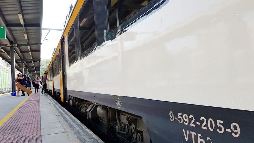 Renfe suspende los trenes entre Vigo y O Porto desde este domingo por el cierre de fronteras de Portugal