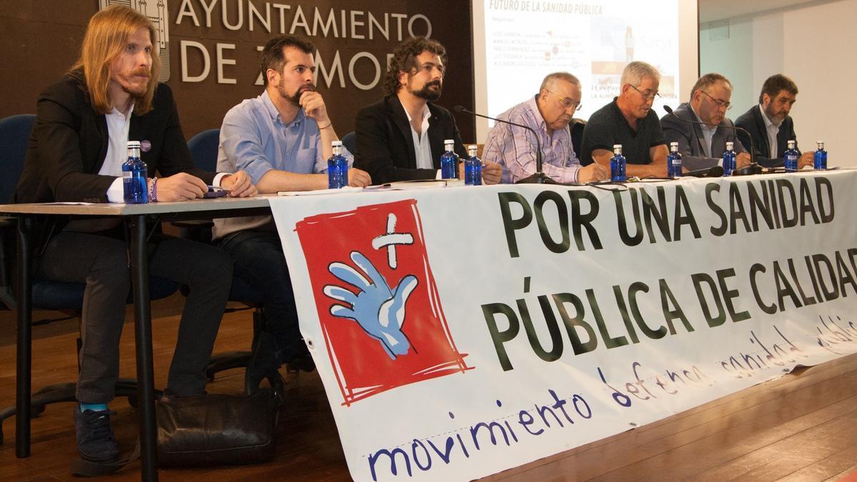Un debate organizado por el Movimiento por la Sanidad Pública de Zamora